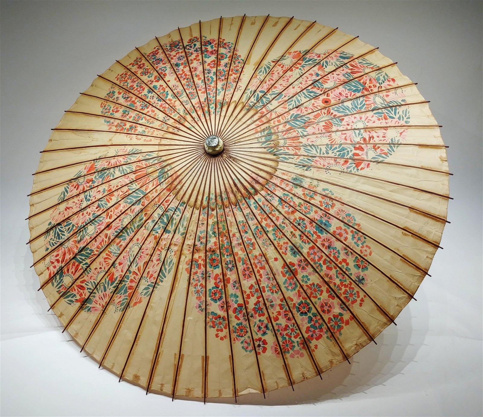 A Japanese Large Paper Umbrella