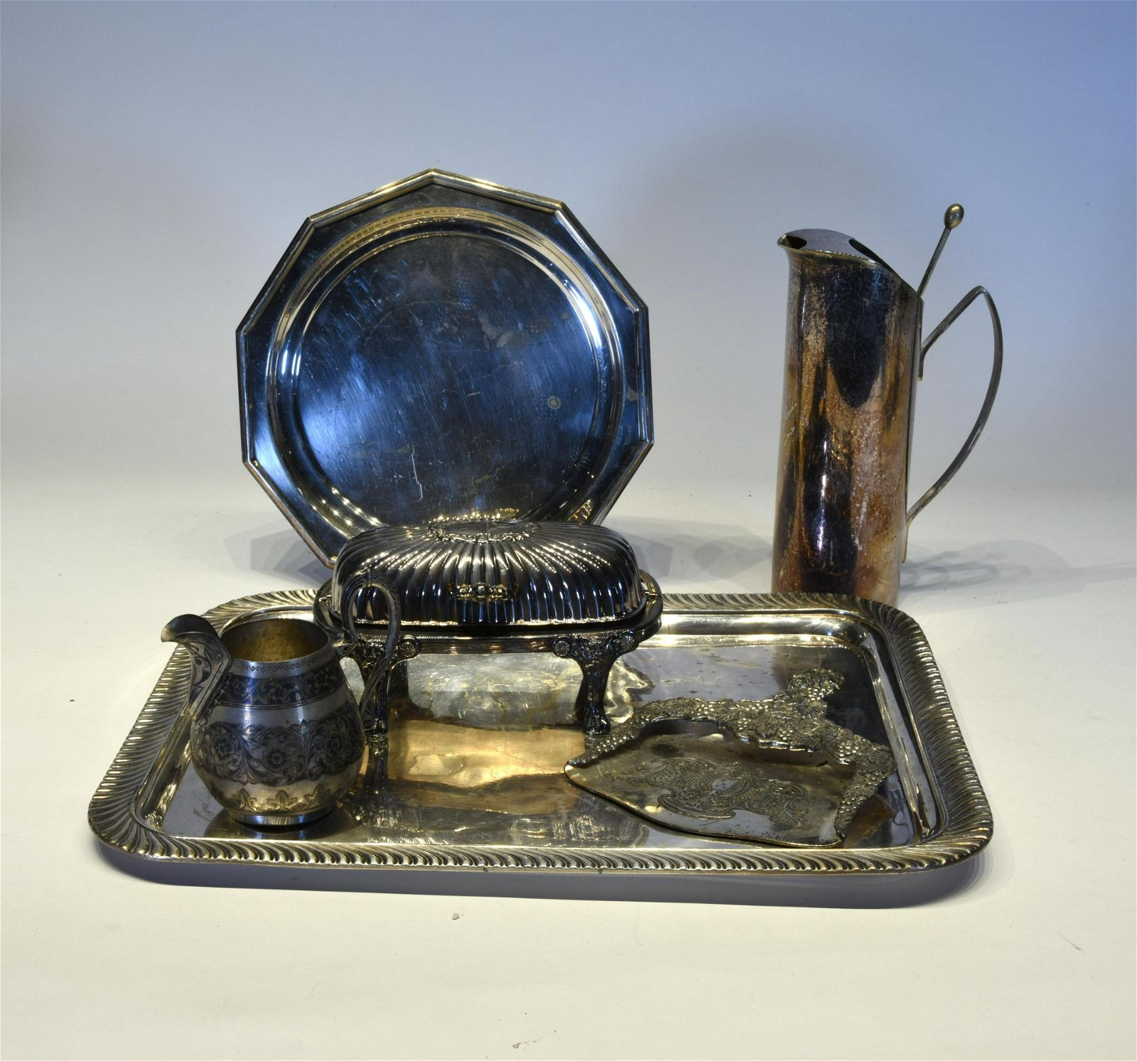 Lot of Silver Plated objects