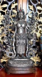 Silver Statue Guan Yin
