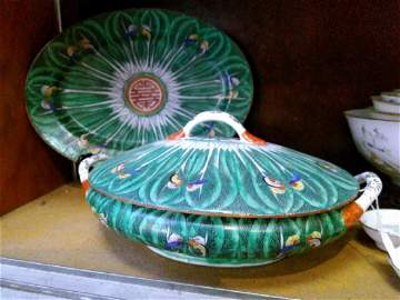 Beautiful Antique Pair of Chinese Dishes