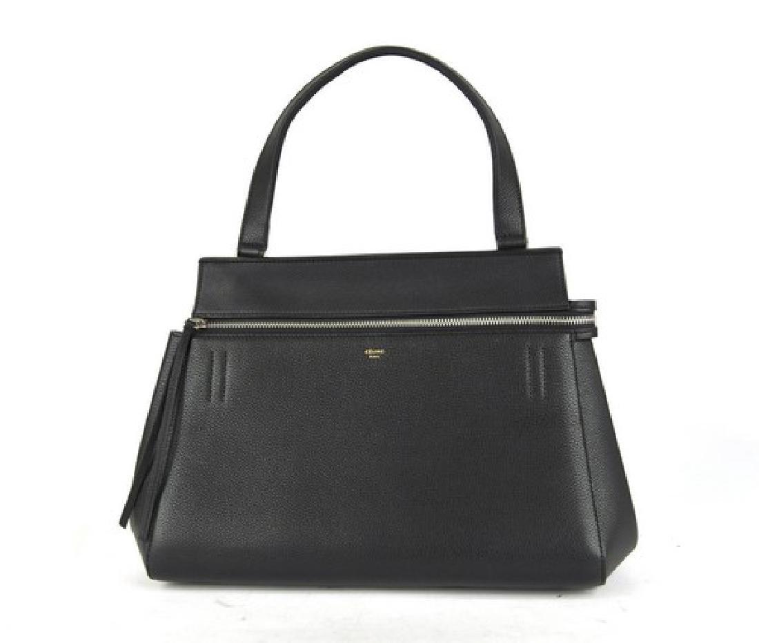 Celine Handbag Edge Black