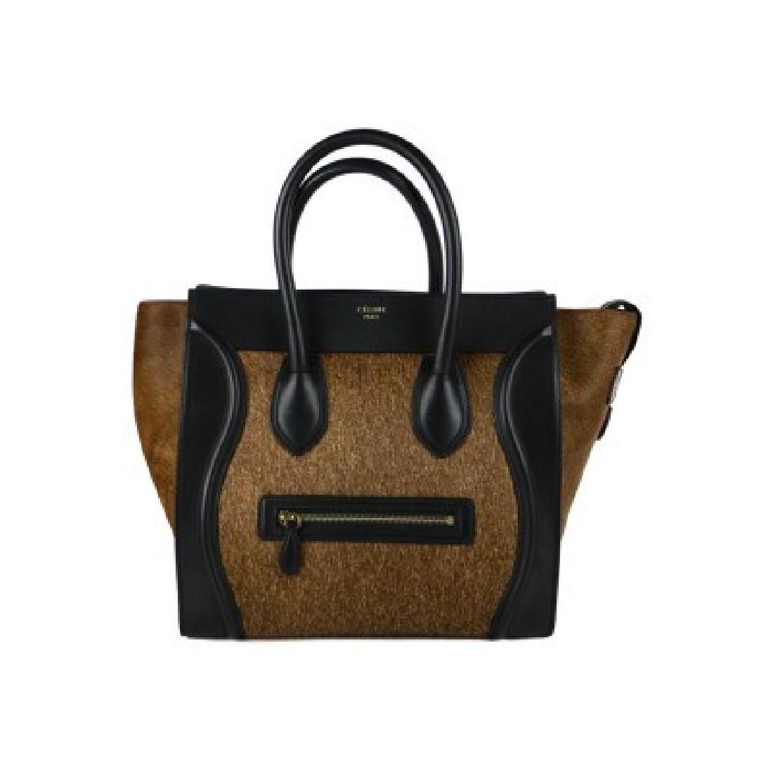Celine Handbag Luggage Tote Bag