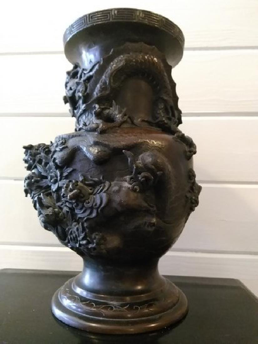 "13"" Rare Antique Chinese Bronze Sculpture"
