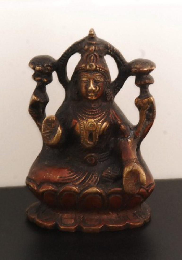 Ancient Bronze Woman Hindu Goddess
