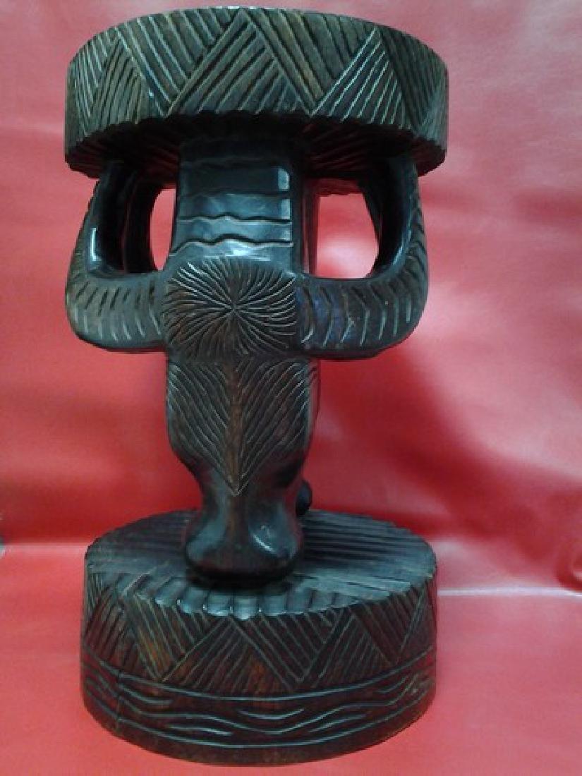 African Stool Sculpture