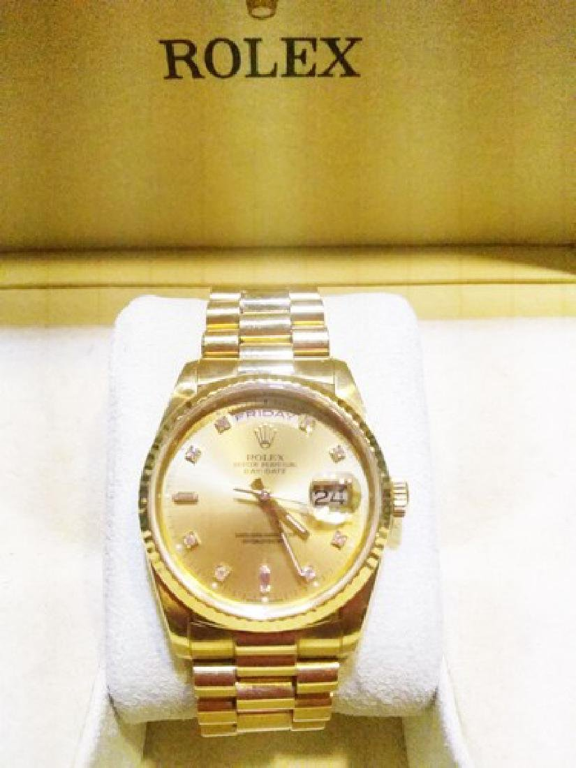 Certified c1995 36mm Rolex Presidential Day-Date Quick