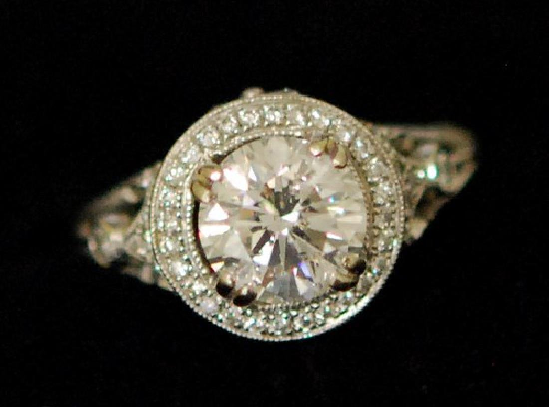 Certified 2.50ctw Diamond Engagement Ring in Gold