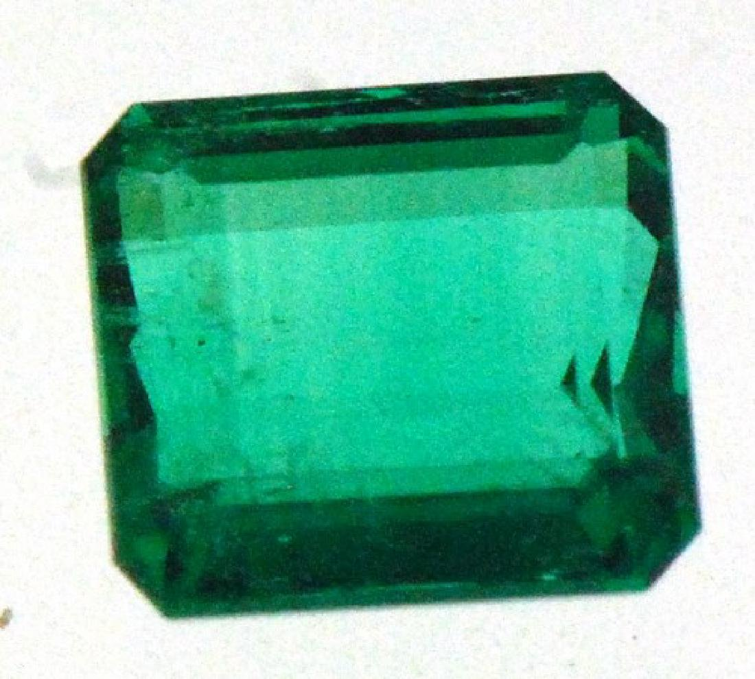 RARE Natural Emerald Afghani Cert by GLA