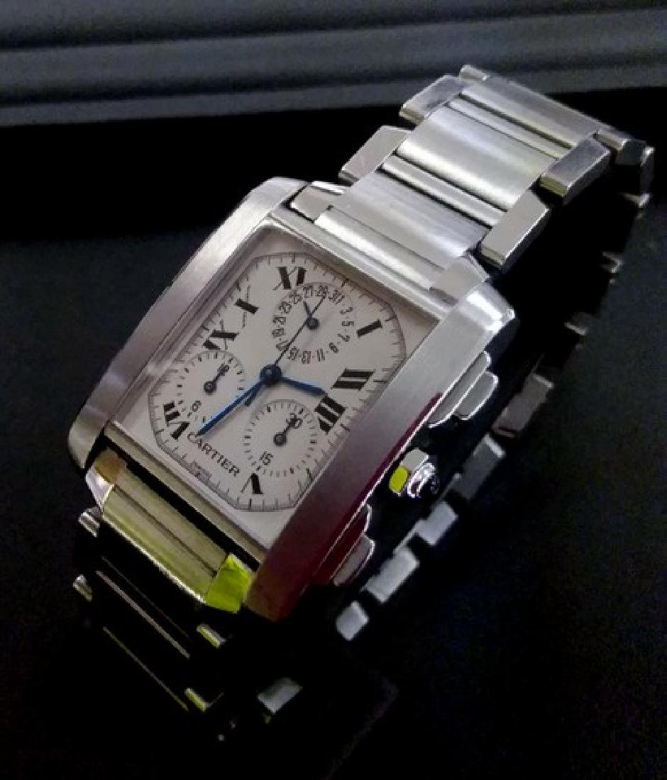 Cartier Chronograph Watch