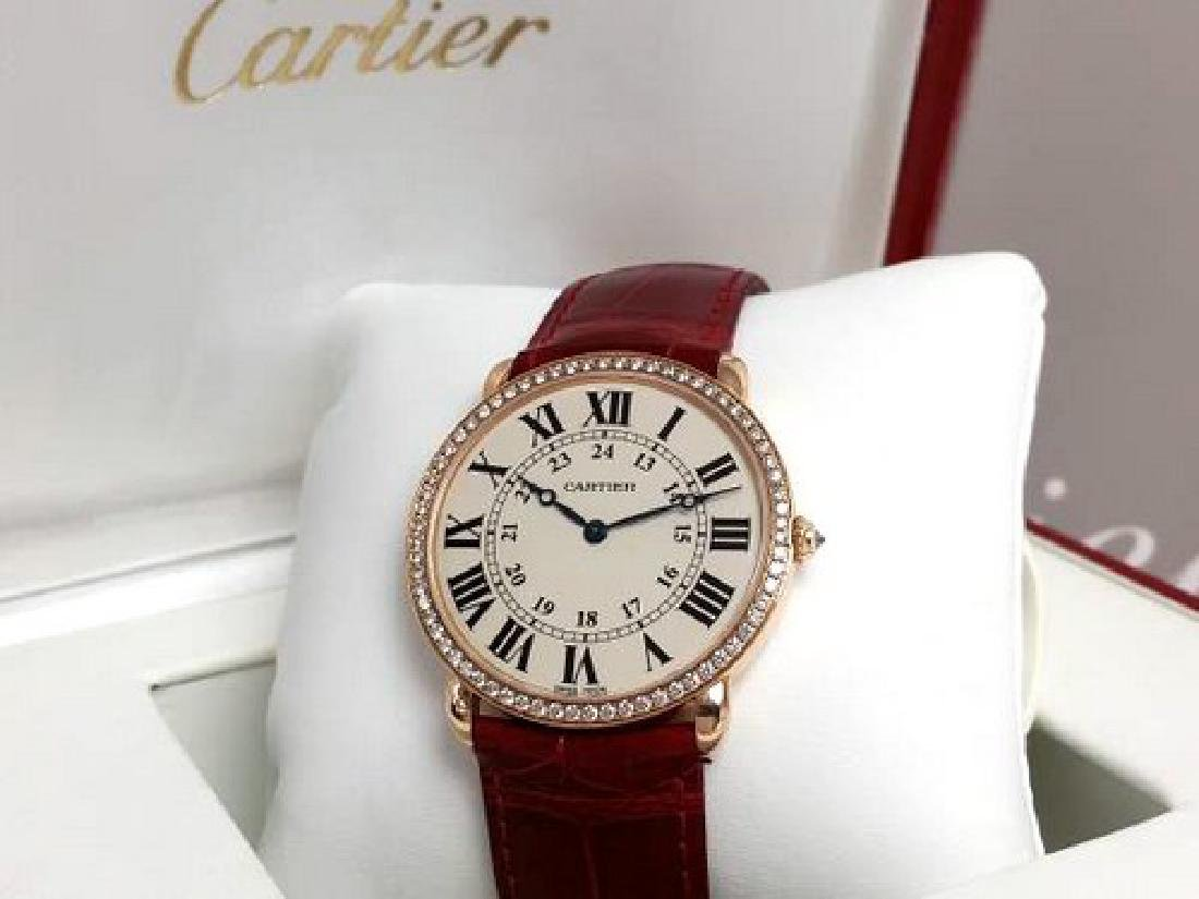 CARTIER WATCH LOUIS RONDE 36 de CARTIER - 6