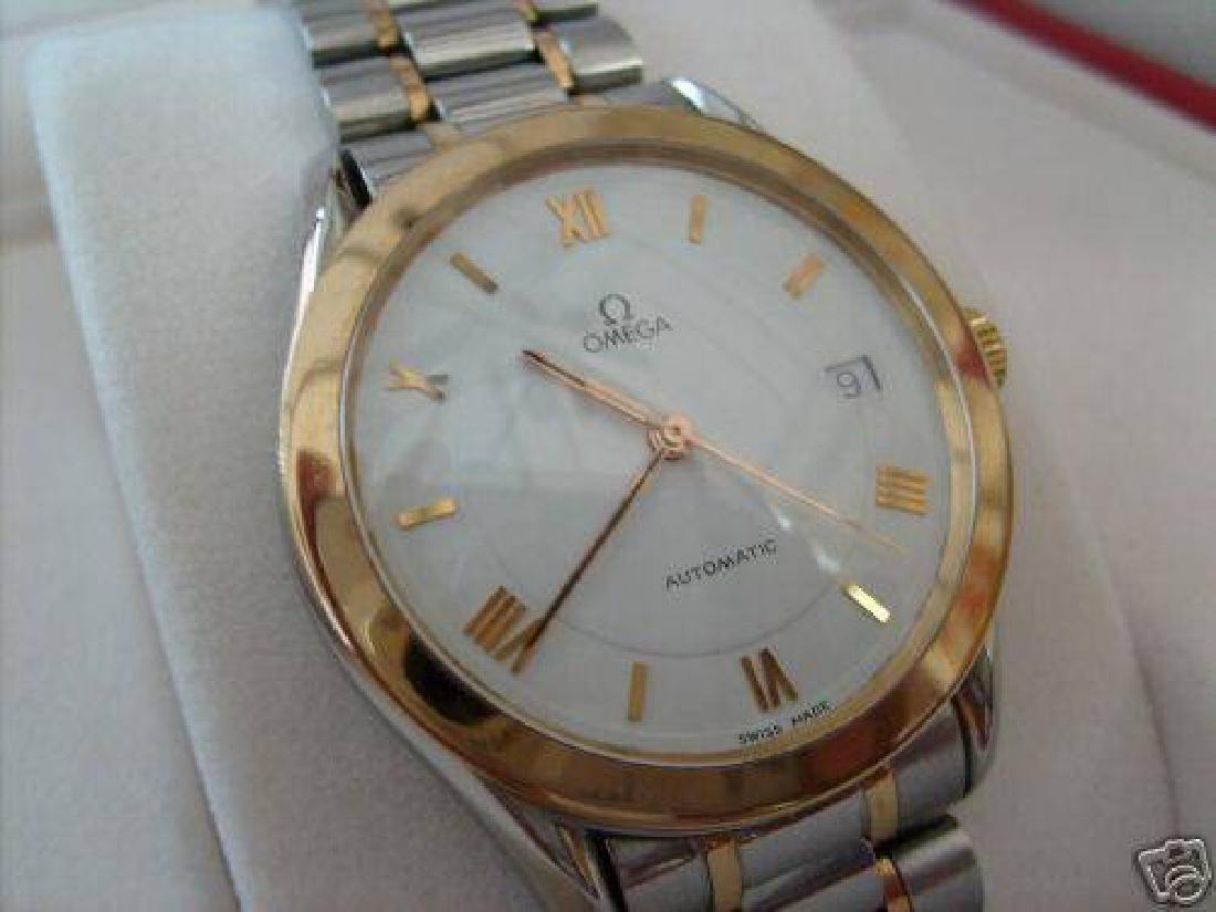 "Vintage Omega 18K Gold Mens Watch Maison ""Fondee en"