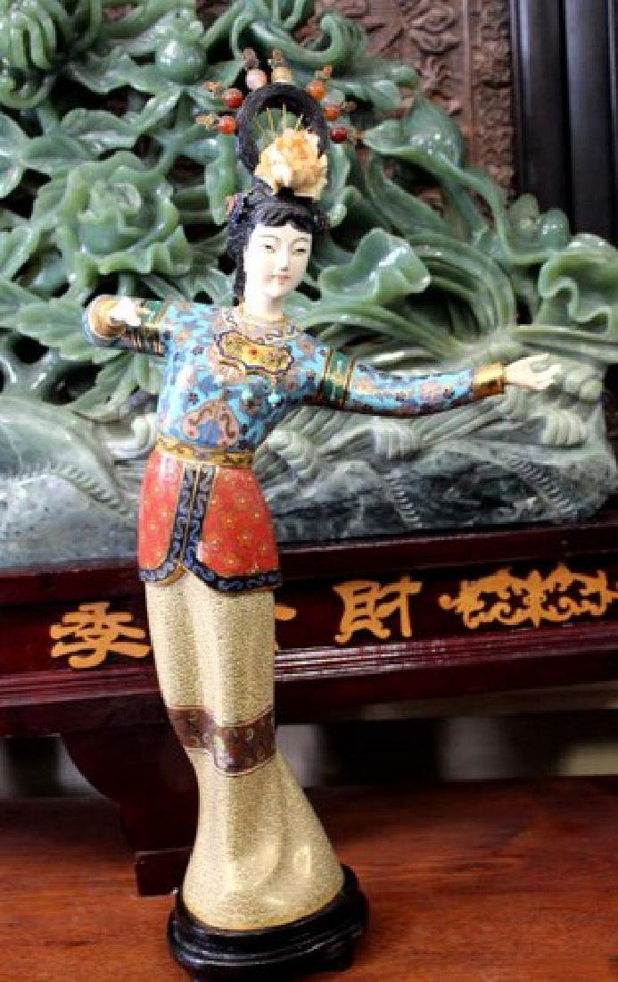 Bejeweled Chinese Empress