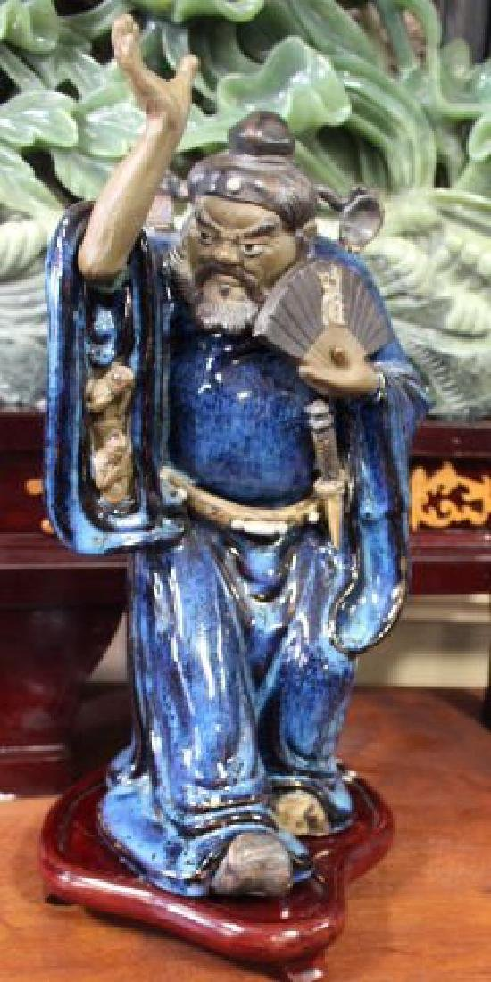 Chinese Ceramic Ghost Buster God