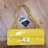 Authentic Chanel Patent Leather Designer Luxury Handbag