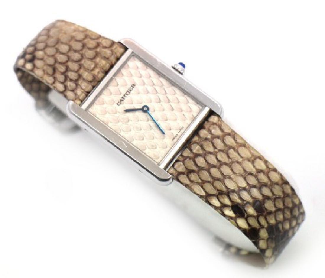 Cartier Tank Francaise Watch 3169