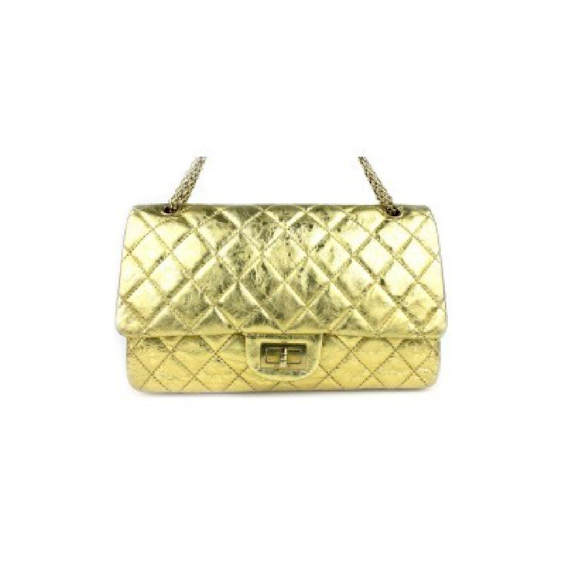 Chanel Gold Jumbo Bag