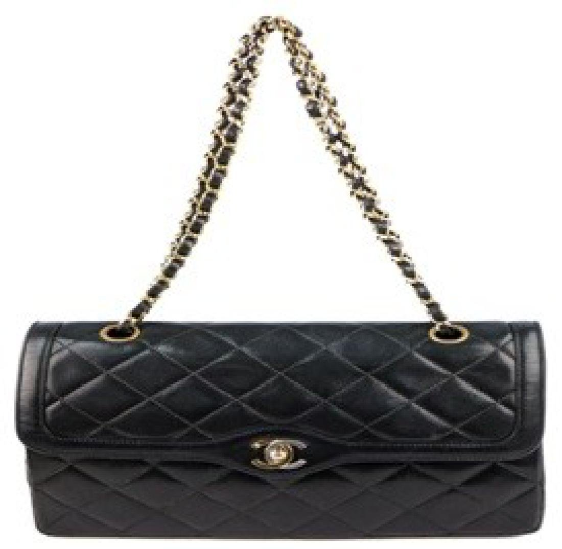 CHANEL Handbag (Black Lambskin)