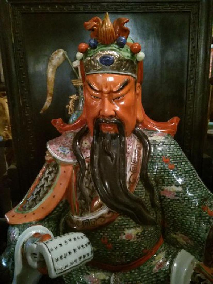 Huge Fine Chinese Powerful Cloisonne Sculpture