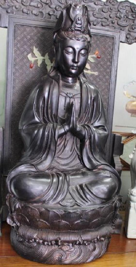 "Huge Sacred Chinese Guanyin ""Goddess of Mercy"""