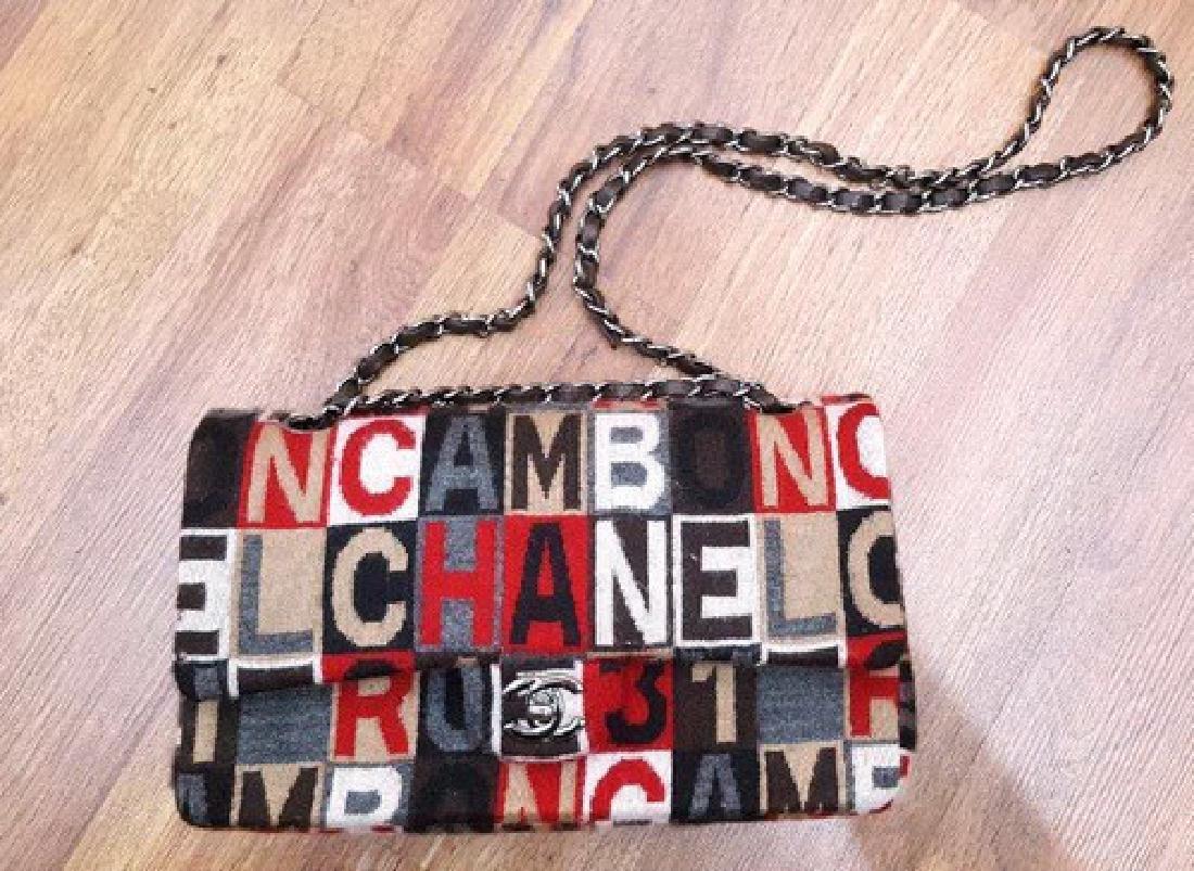 Chanel Handbag Multi-Color Fabric
