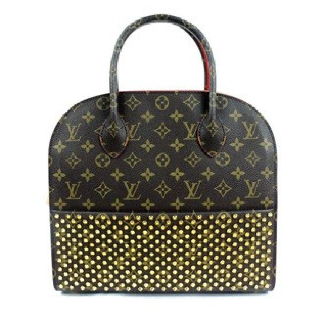Louis Vuitton Handbag x Christian Louboutin Celebration