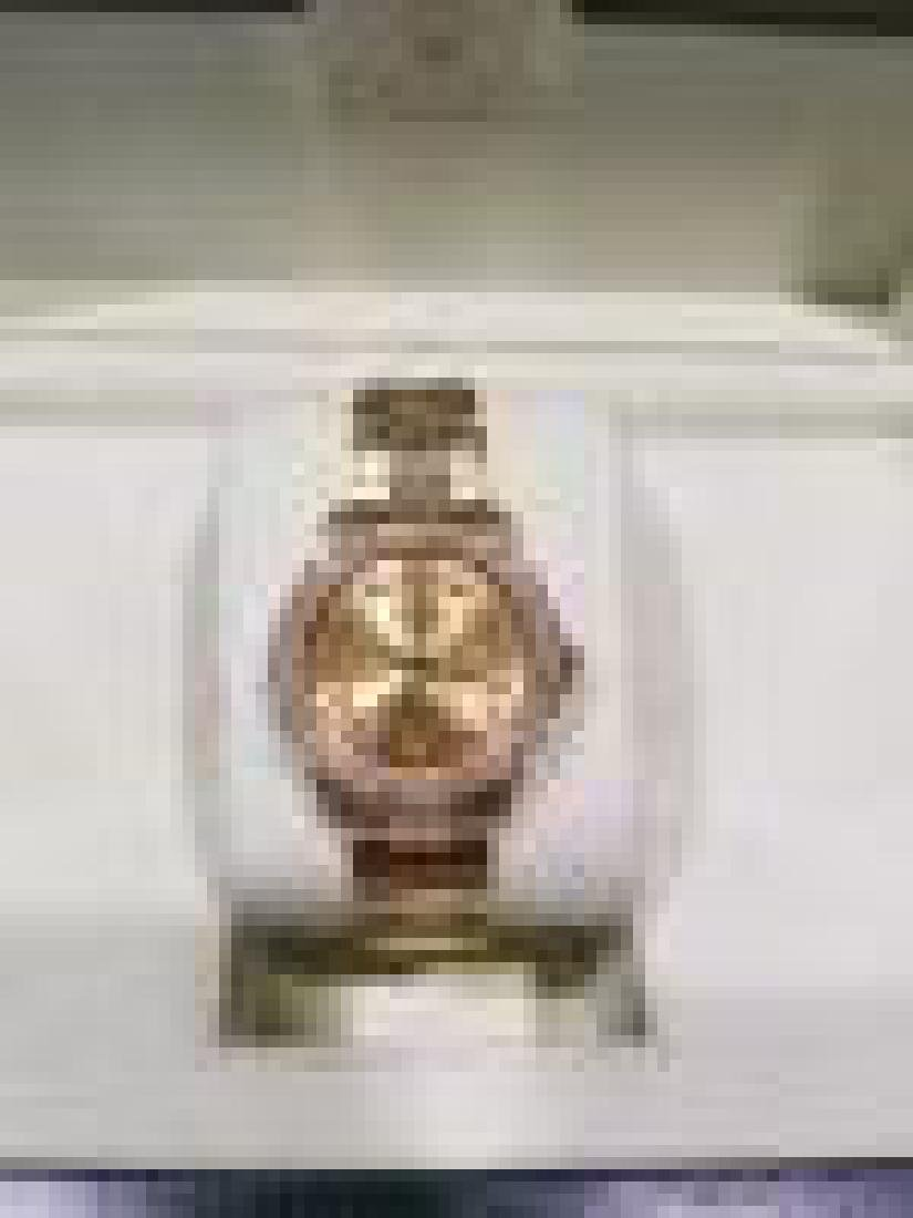 Rolex Datejust Watch 31mm in 18K Gold with Diamonds - 4