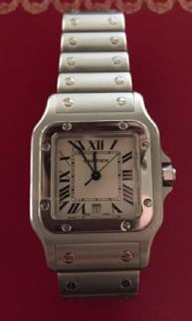 Cartier Santos Watch - 6