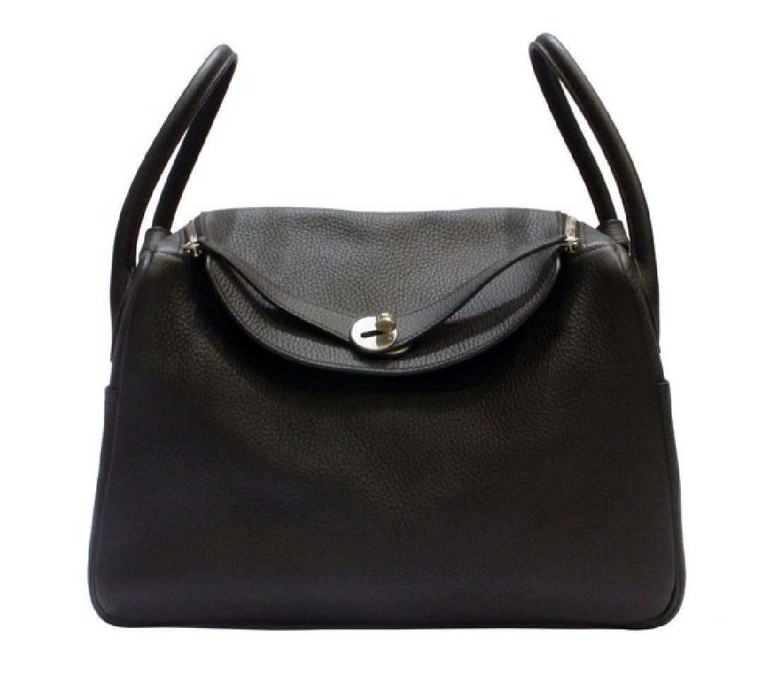 100% Authentic Luxury Brand: Hermes Black Lindy 34 - 2