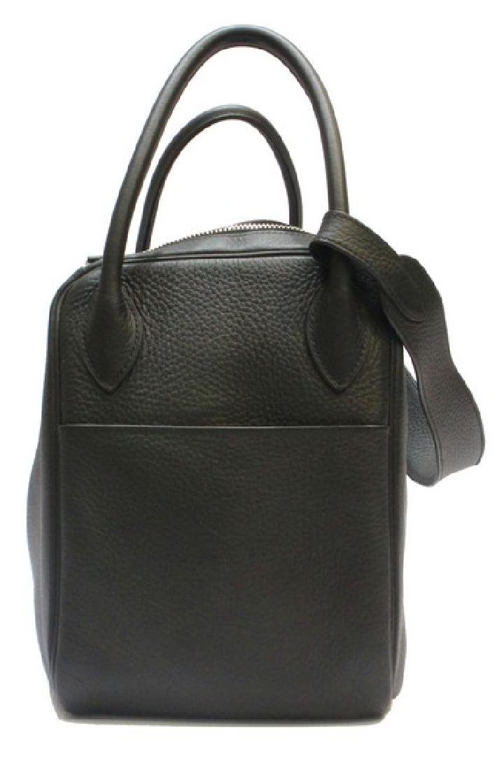 100% Authentic Luxury Brand: Hermes Black Lindy 34 - 3