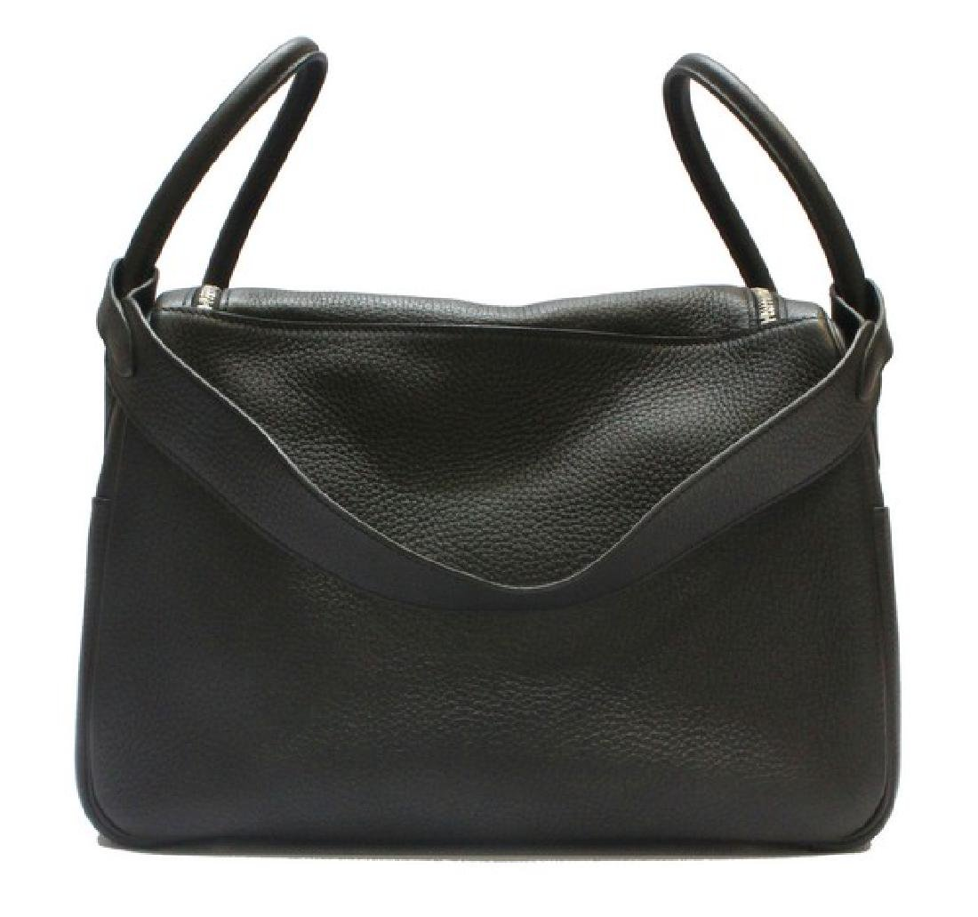 100% Authentic Luxury Brand: Hermes Black Lindy 34 - 4