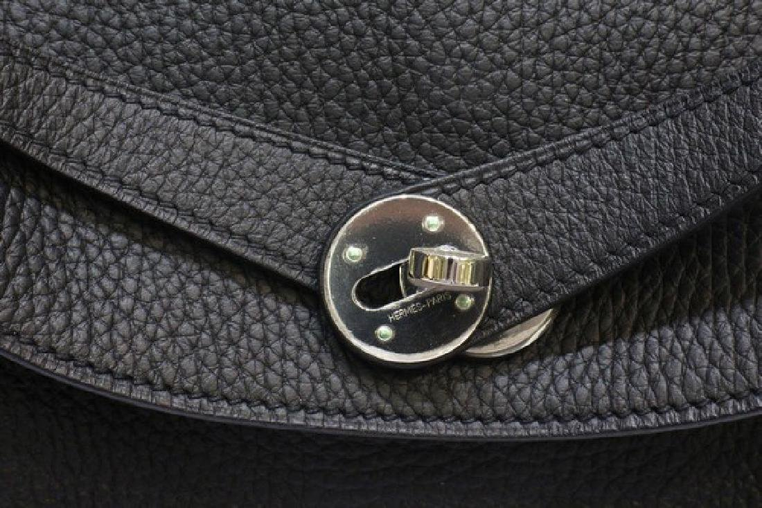 100% Authentic Luxury Brand: Hermes Black Lindy 34 - 6