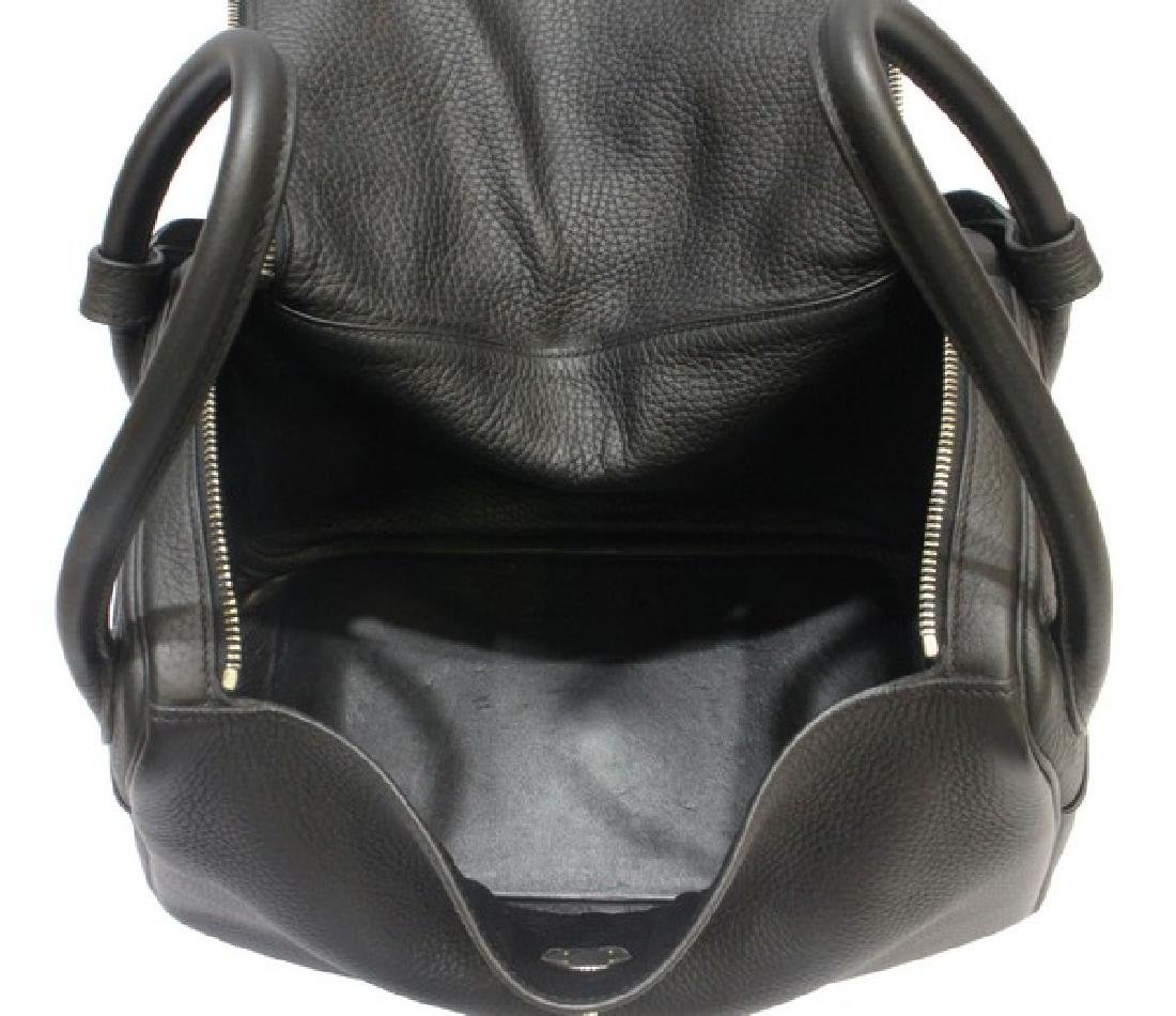 100% Authentic Luxury Brand: Hermes Black Lindy 34 - 9