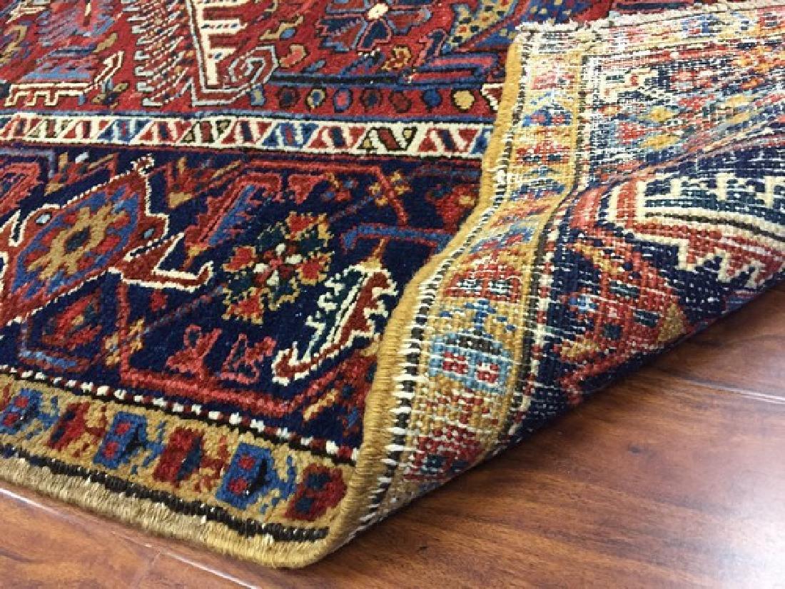 Antique Persian Heriz Rug #590 - 4