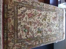 Fine Vintage Silk Persian Rug