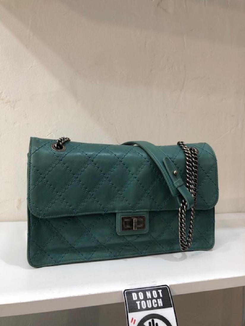 Chanel Jumbo Aqua Bag