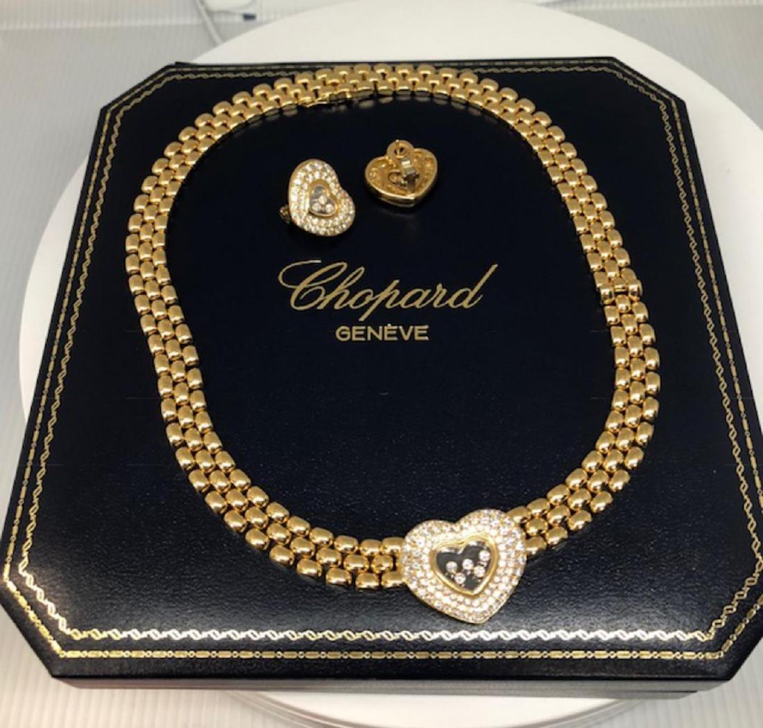 Chopard Diamond Jewelry Set Certifiedby GLA