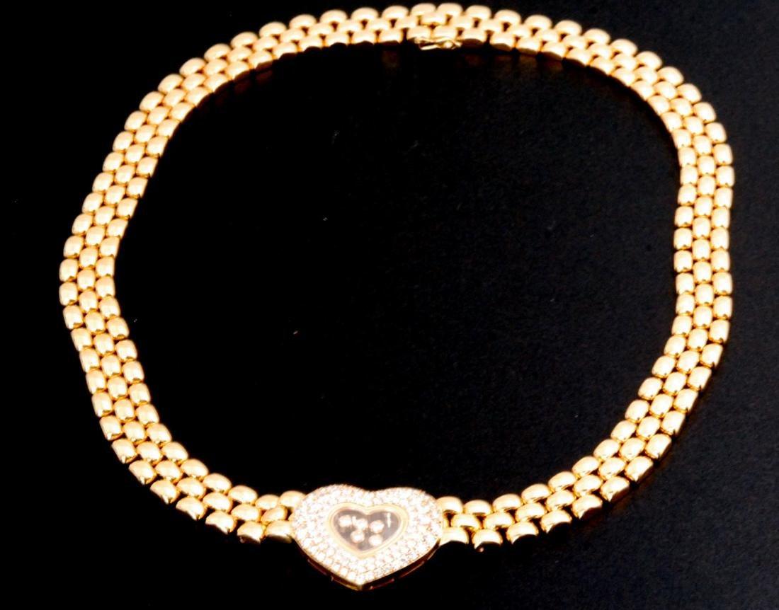 Chopard Diamond Jewelry Set Certifiedby GLA - 3