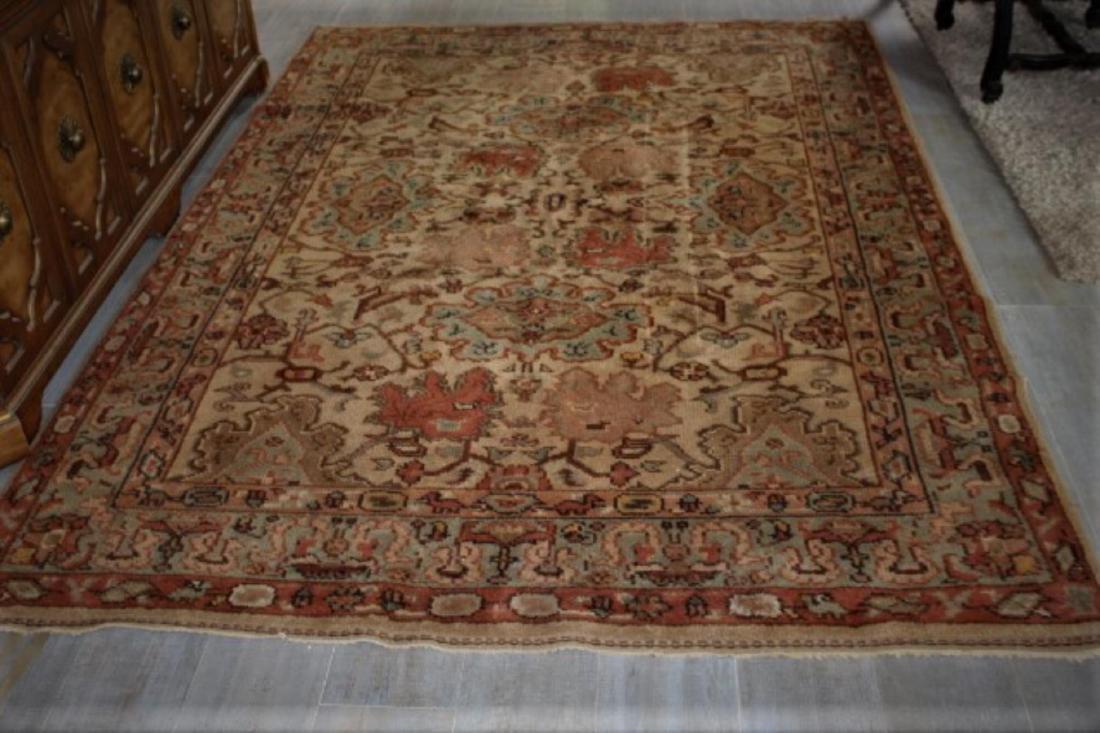 Antique Persian Rug 9' x 6'