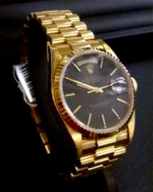 18K Yellow Gold Rolex Presidential Watch