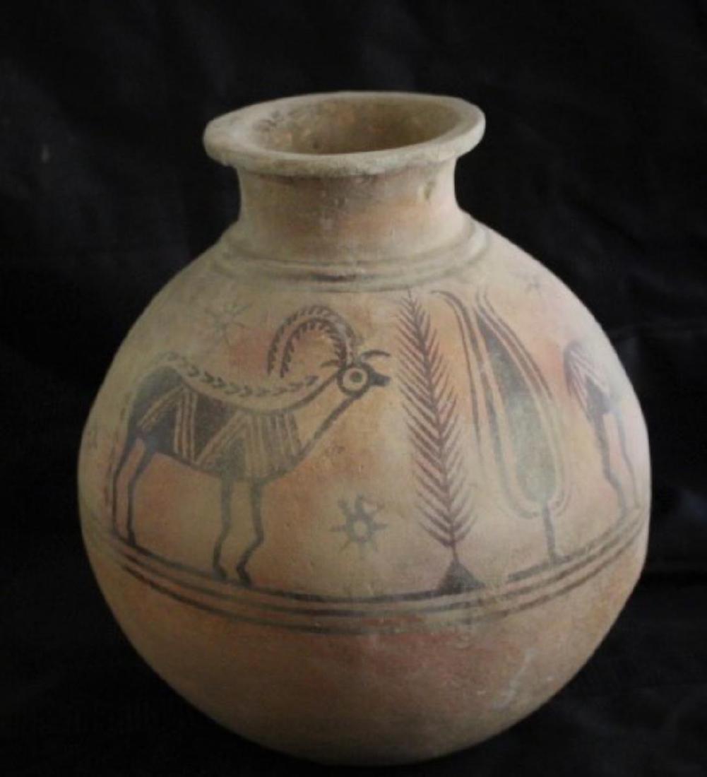Indus Valley Harappan Ceramic Vessel (genuine artifact)