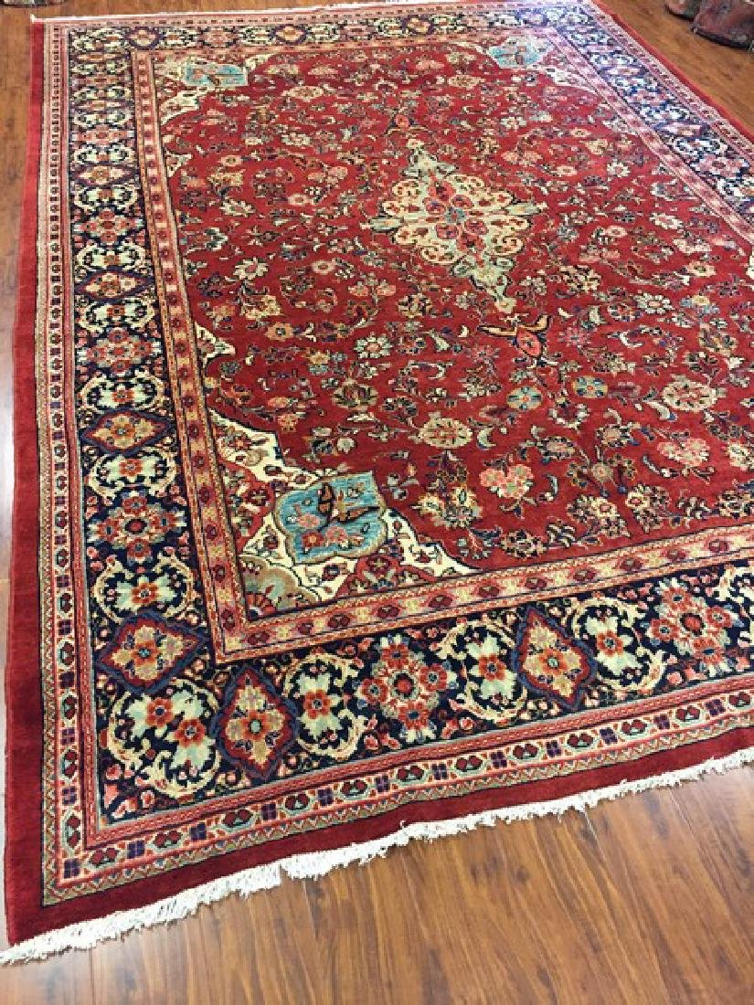 Antique Persian Mahal Rug #595