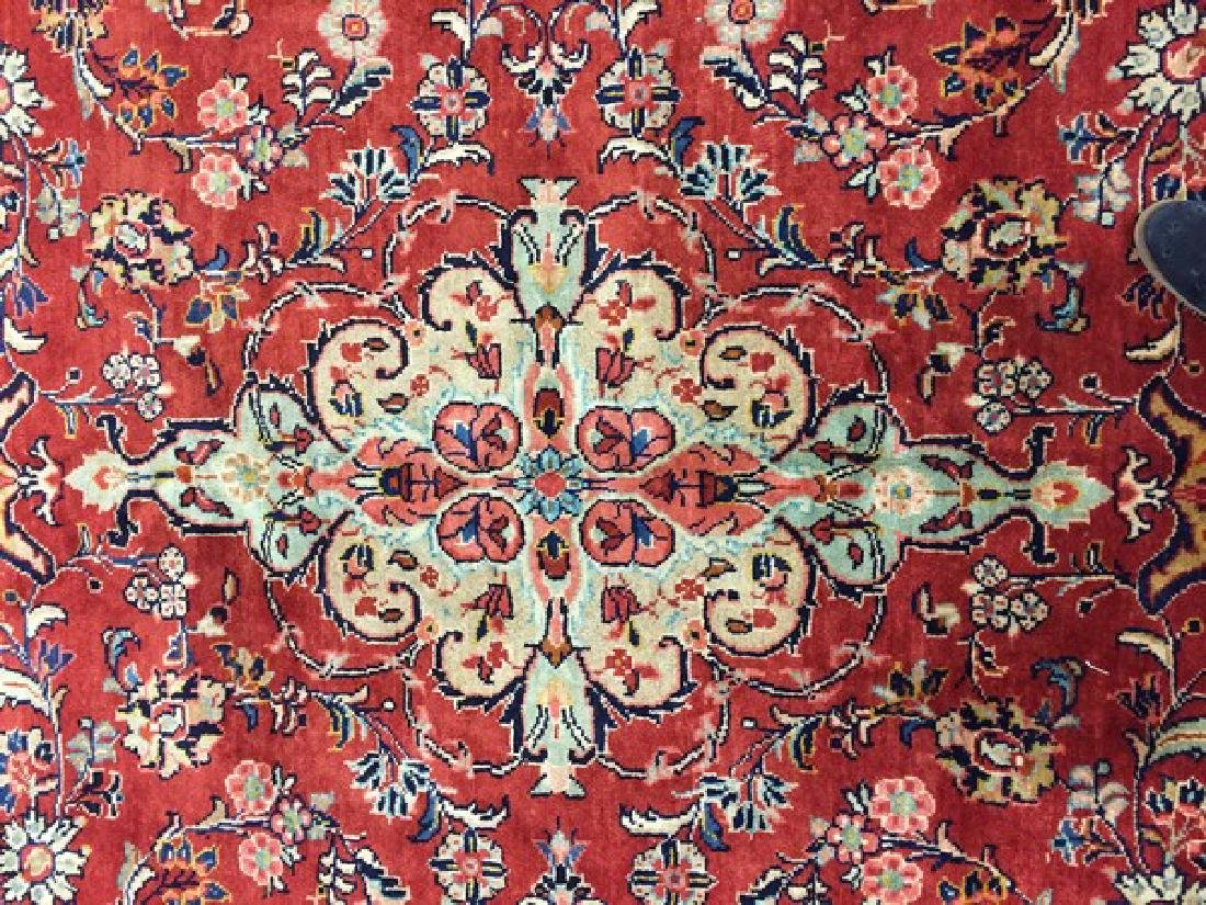 Antique Persian Mahal Rug #595 - 5
