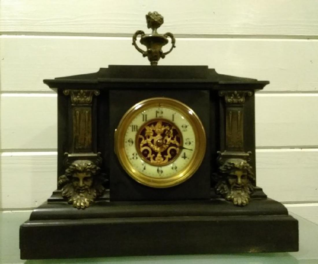 "14"" Fine French Mantle Clock"