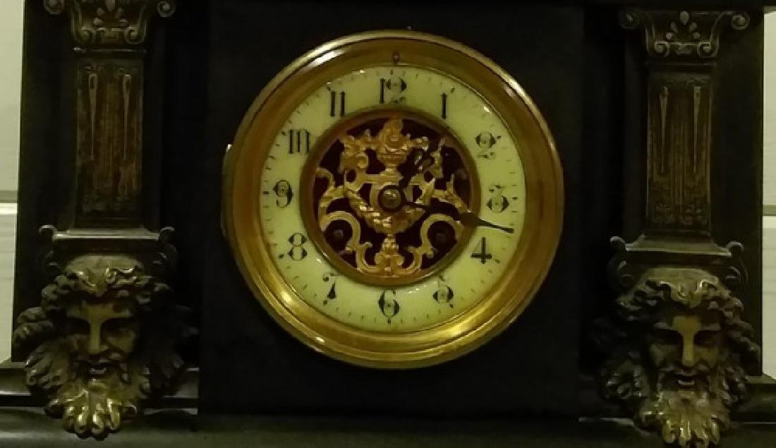 "14"" Fine French Mantle Clock - 2"