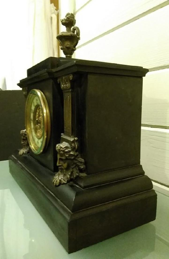 "14"" Fine French Mantle Clock - 3"
