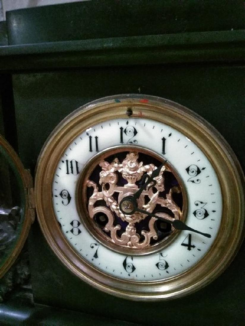 "14"" Fine French Mantle Clock - 4"