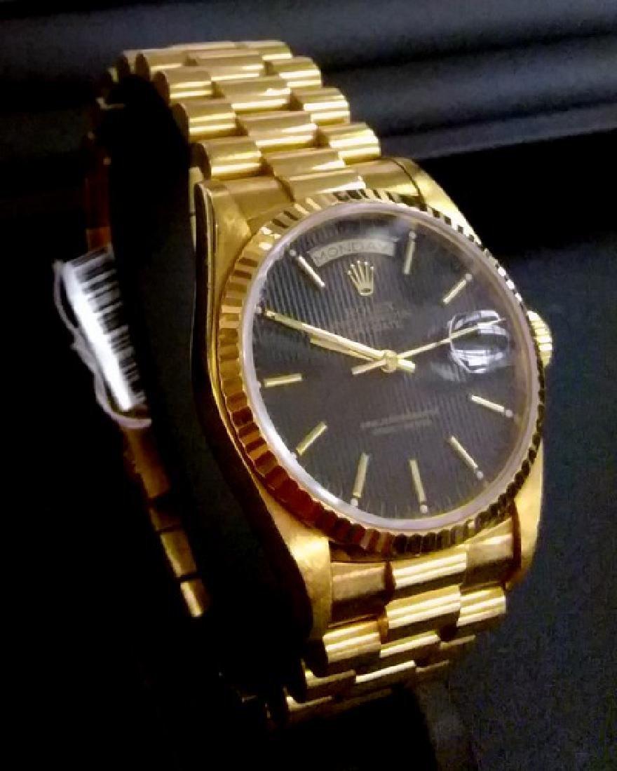 18K Yellow Gold Rolex Presidential Watch