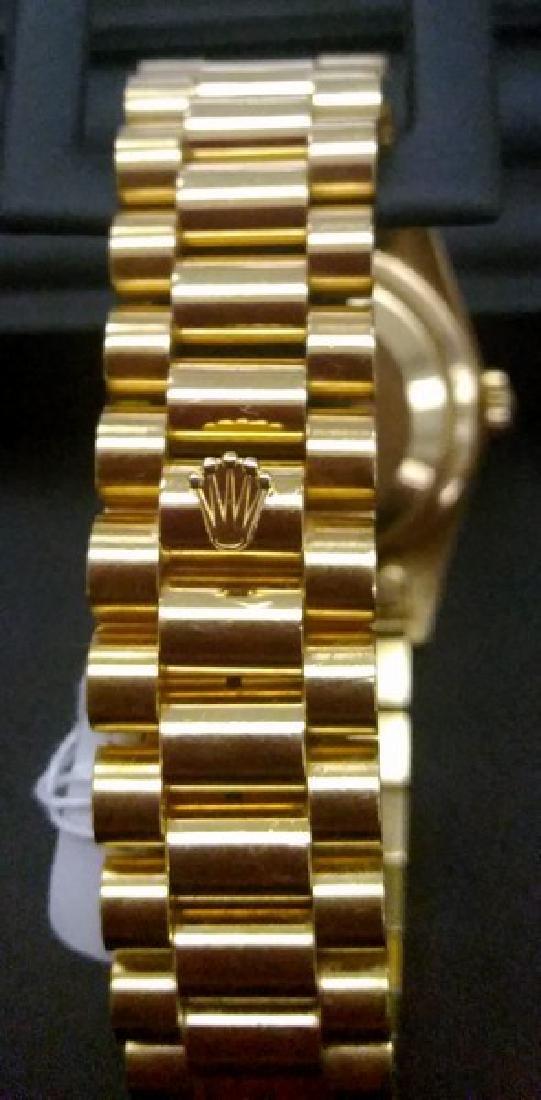 18K Yellow Gold Rolex Presidential Watch - 4