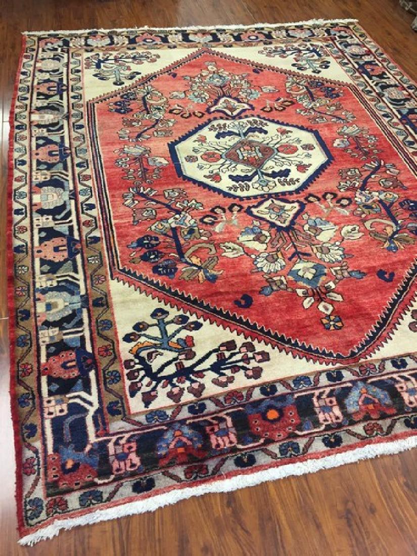 Antique Persian Bakhtiari Rug #568