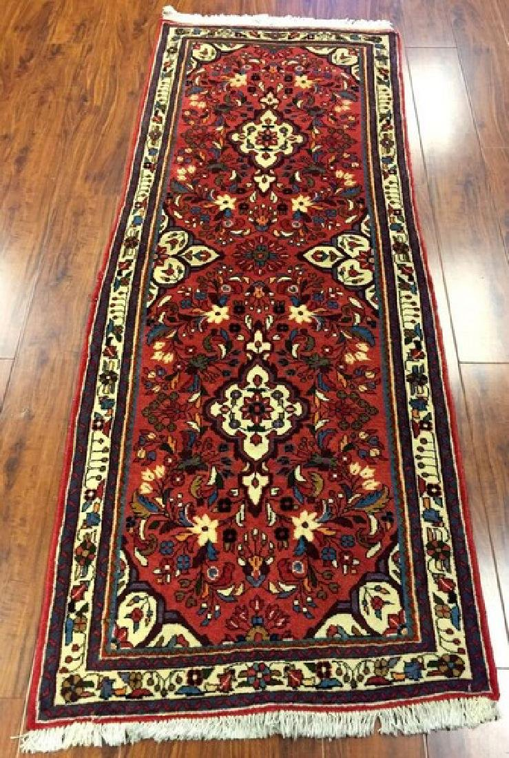 Antique Persian Hamadan Runner Rug #171